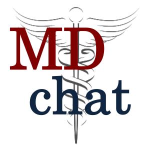 MDchat logo